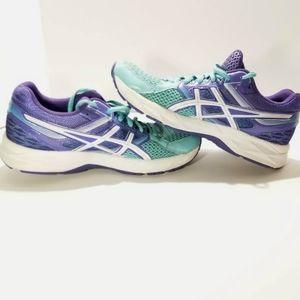 ASICS Gel Contend 3 Running Shoes Purple Teal Sz 8